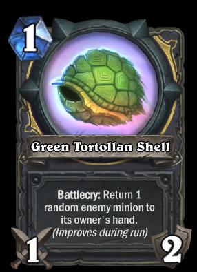 Green Tortollan Shell Card Image