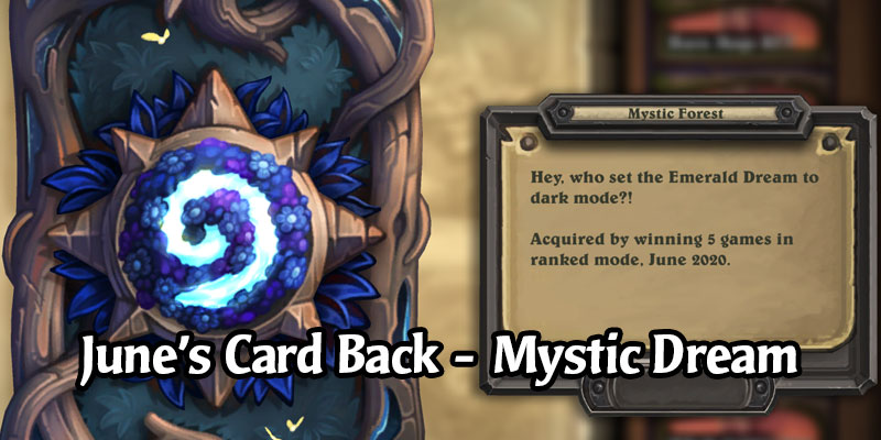 June's Card Back Revealed - Mystic Forest