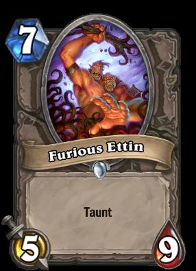 Furious Ettin Card Image