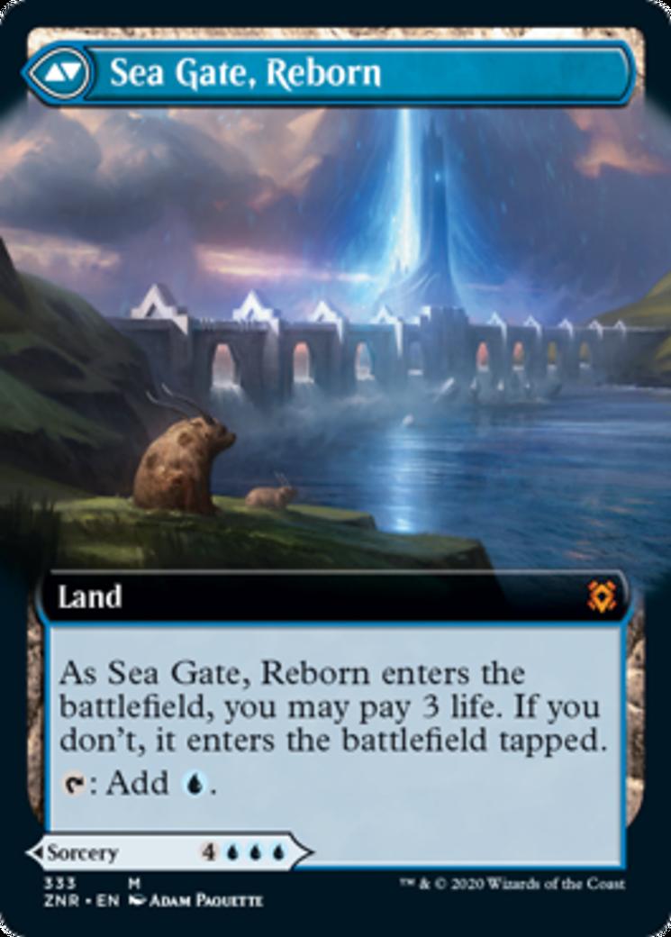 Sea Gate Restoration // Sea Gate, Reborn Card Image