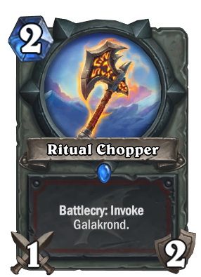 Ritual Chopper Card Image