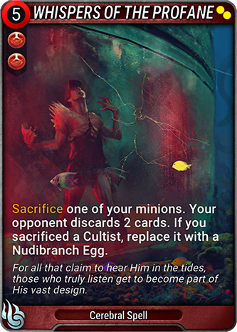 Whispers of the Profane Card Image