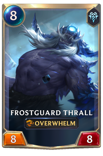 Frostguard Thrall Card Image