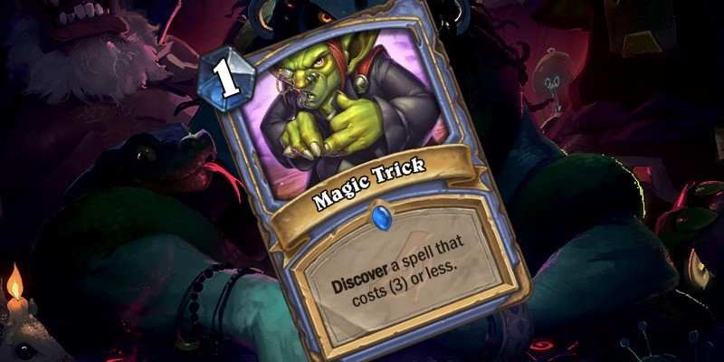 New Mage Spell - Magic Trick
