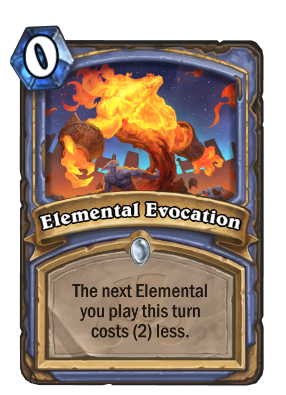 Elemental Evocation Card Image