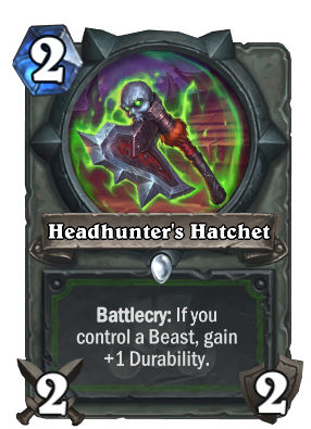 Headhunter's Hatchet Card Image