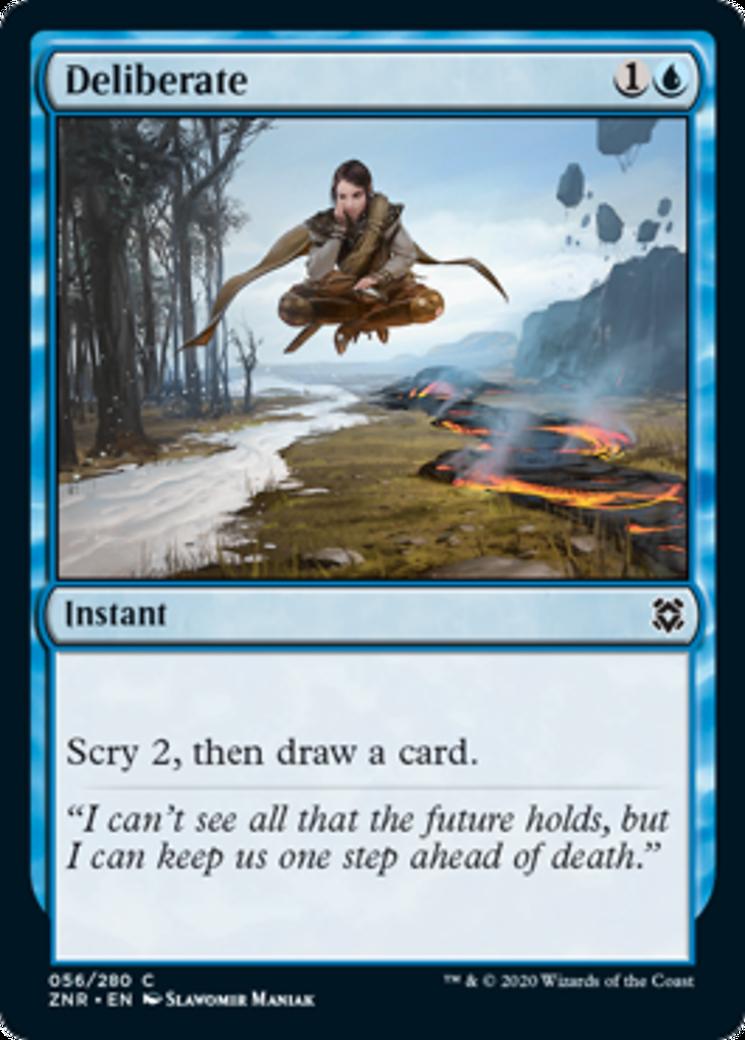 Deliberate Card Image
