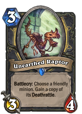 Unearthed Raptor Card Image
