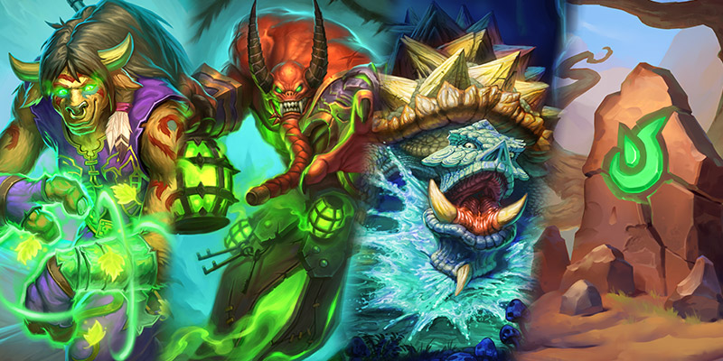 Our Thoughts on Wailing Caverns' Shaman, Warlock,  Warrior, & Neutral Cards