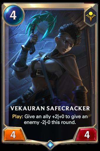 Vekauran Safecracker Card Image