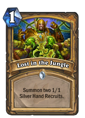 Lost in the Jungle Card Image