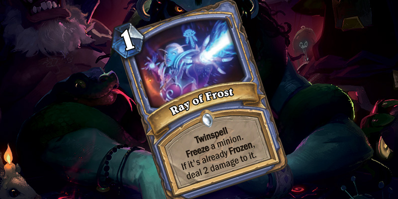 Paladin Legendary Reveal & Mage Spell - Commander Rhyssa & Ray of Frost