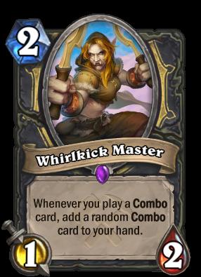 Whirlkick Master Card Image