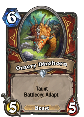 Ornery Direhorn Card Image