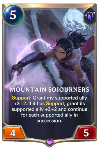 Mountain Sojourners Card Image