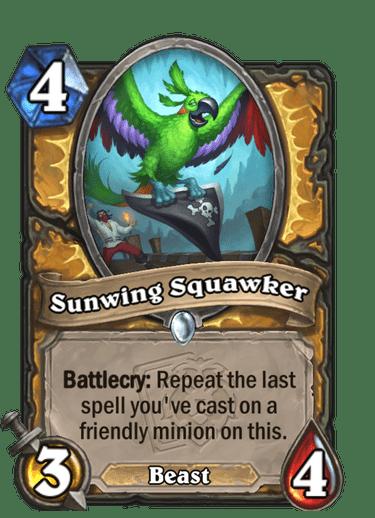 Sunwing Squawker Card Image