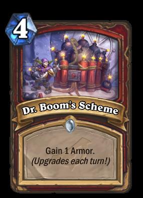 Dr. Boom's Scheme Card Image