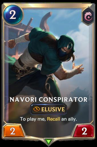 Navori Conspirator Card Image