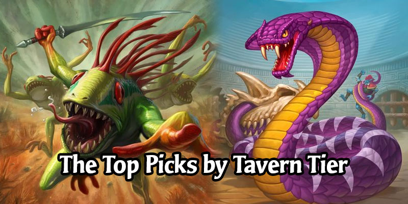 The Most Picked Minions by Tavern Tier in Hearthstone's Battlegrounds