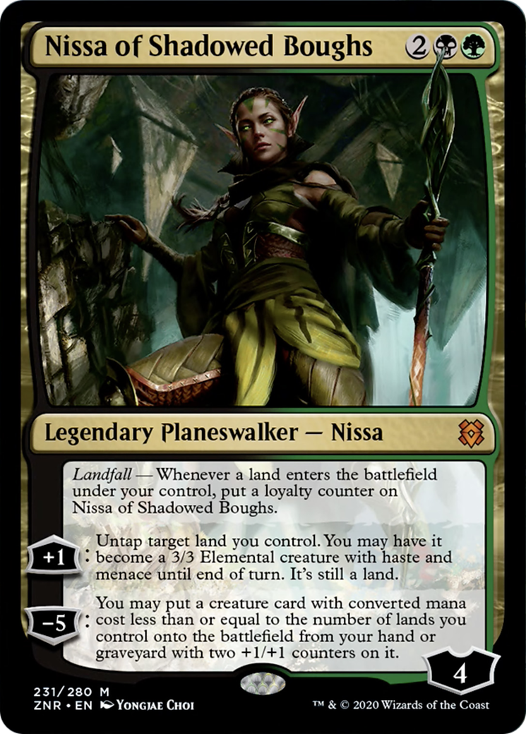 Nissa of Shadowed Boughs Card Image