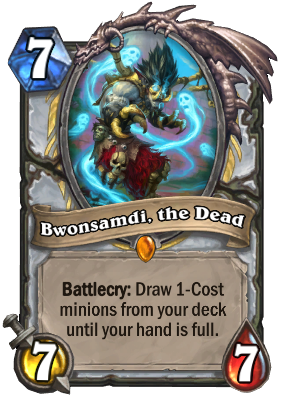 Bwonsamdi, the Dead Card Image