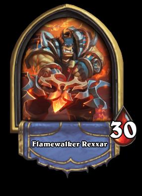 Flamewalker Rexxar Card Image