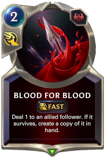 Blood for Blood Card Image