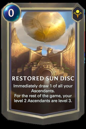 Restored Sun Disc Card Image