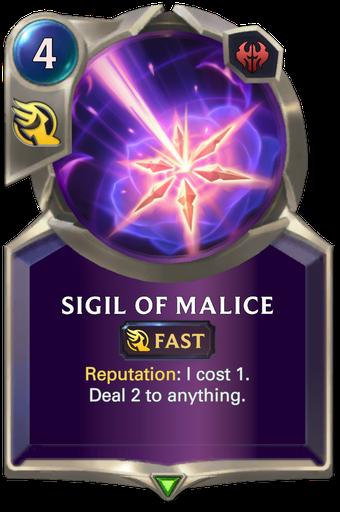 Sigil of Malice Card Image