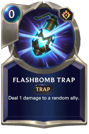 Flashbomb Trap Card Image