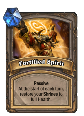 Fortified Spirit Card Image