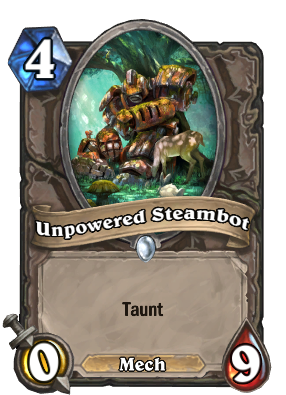 Unpowered Steambot Card Image