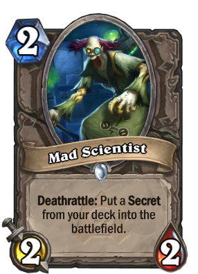Mad Scientist Card Image