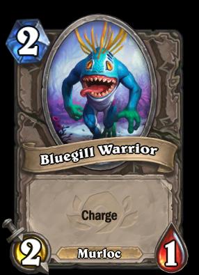 Bluegill Warrior Card Image