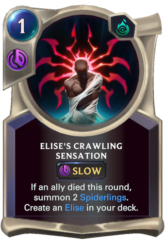Elise's Crawling Sensation Card Image