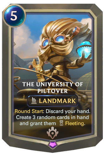 The University of Piltover Card Image