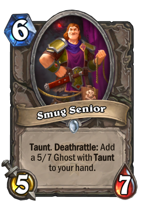 Smug Senior Card Image