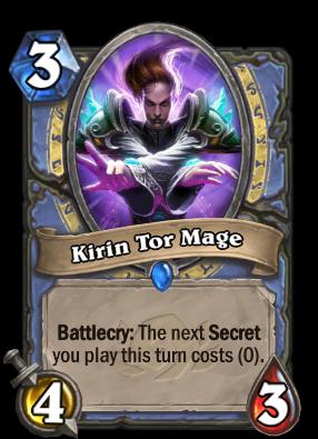 Kirin Tor Mage Card Image