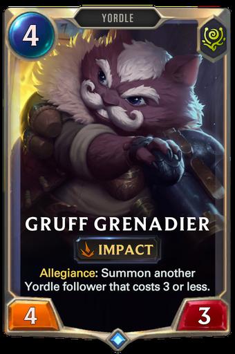 Gruff Grenadier Card Image