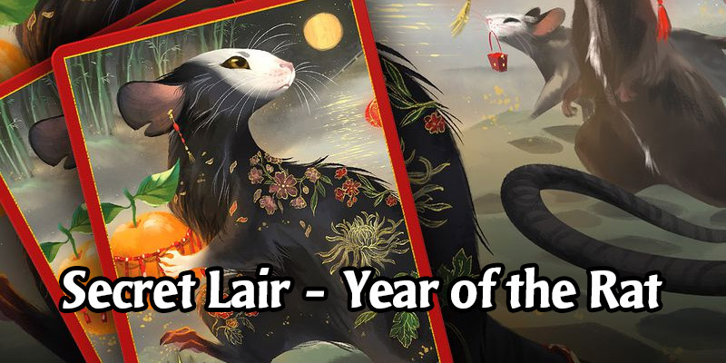 The MTG Secret Lair Year of the Rat Drop is Live