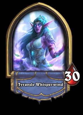 Tyrande Whisperwind Card Image