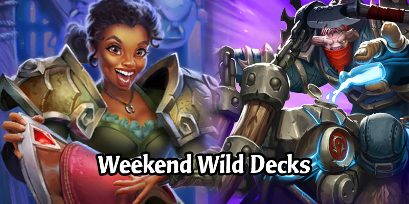 Weekend Wild Hearthstone Decks - Lackey Warlock, OTK Mage, Infinite Armor Shaman, & More