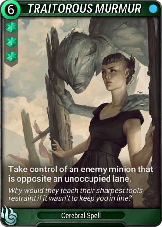 Traitorous Murmur Card Image