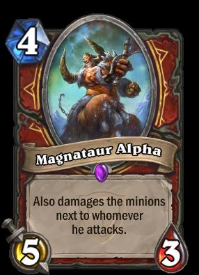 Magnataur Alpha Card Image