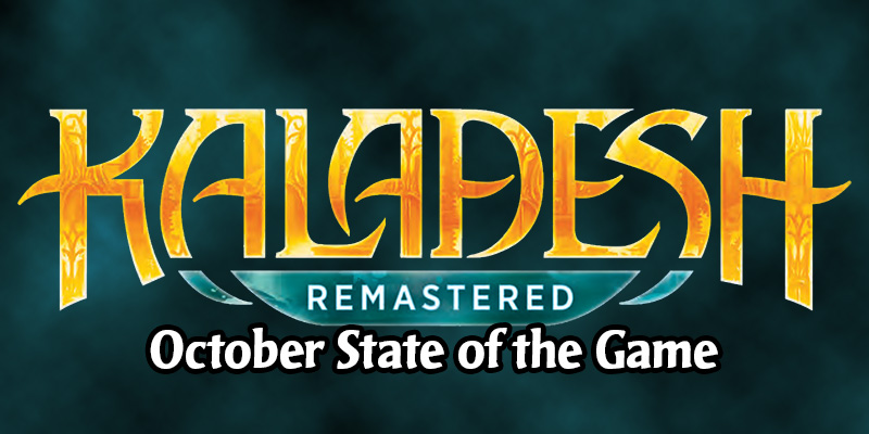 MTG Arena State of the Game October 2020 - Zendikar Festival, Arena Open October, Kaldesh Remastered