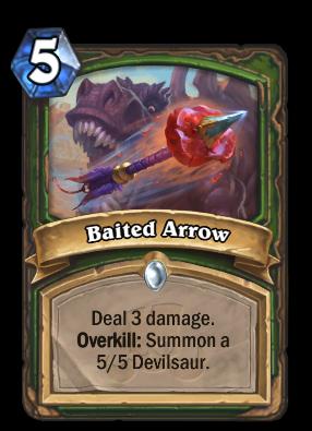 Baited Arrow Card Image