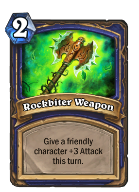 Rockbiter Weapon Card Image