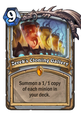 Zerek's Cloning Gallery Card Image