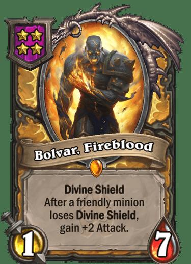 Bolvar, Fireblood Card Image