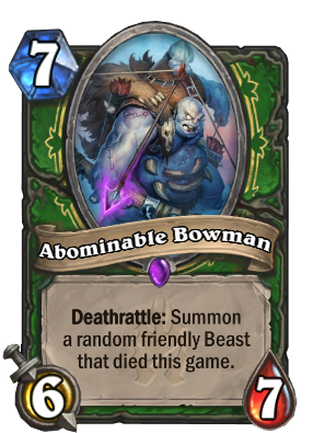 Abominable Bowman Card Image